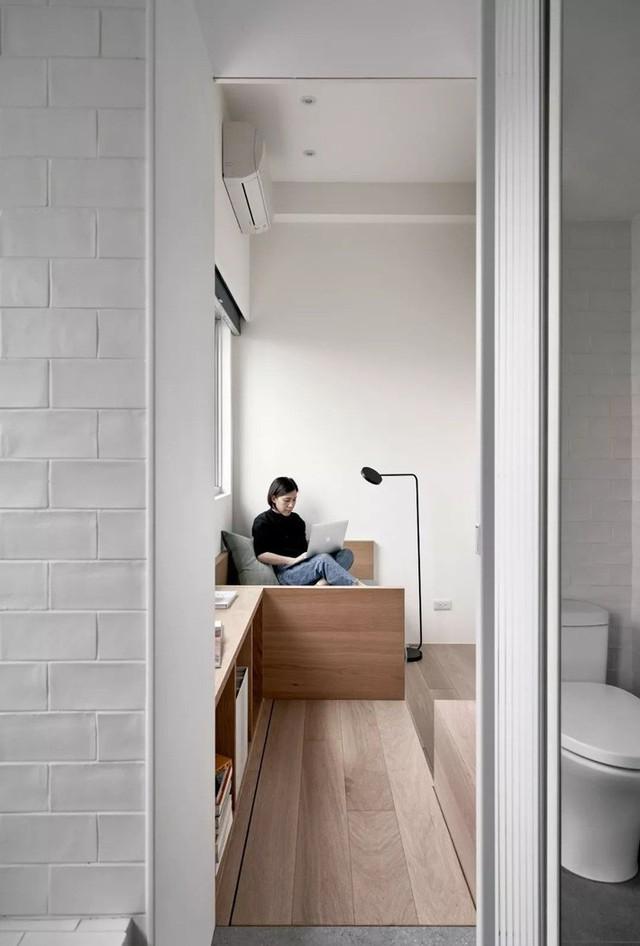 Căn hộ của cô gái độc thân chỉ 17.6m² mà ngỡ như 76m² với cách thiết kế thông minh - Ảnh 15.