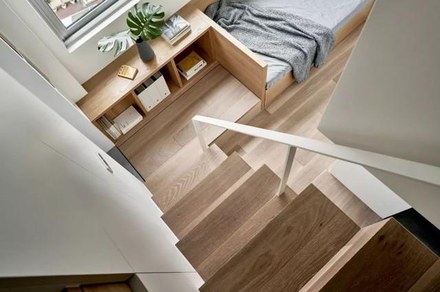 Căn hộ của cô gái độc thân chỉ 17.6m² mà ngỡ như 76m² với cách thiết kế thông minh - Ảnh 10.