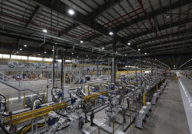 vinfast - bu8a7407 155796289191320738358 crop 15579636244831502613246 - Hé lộ hình ảnh bên trong nhà máy sản xuất ô tô sắp khánh thành của VinFast