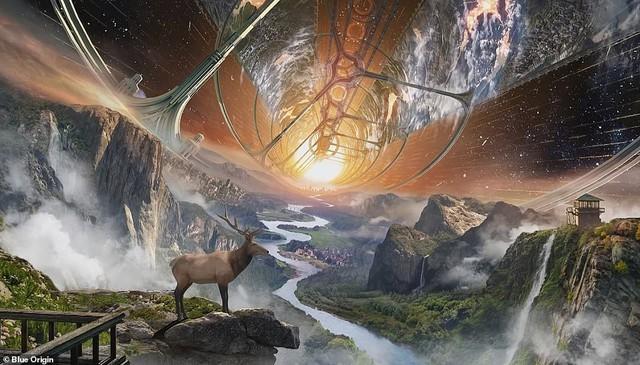 Ông chủ Amazon công bố kế hoạch bí mật xây căn cứ vũ trụ cho cả nghìn tỉ người: Tuyệt đẹp, ai cũng sẽ muốn ở - Ảnh 1.