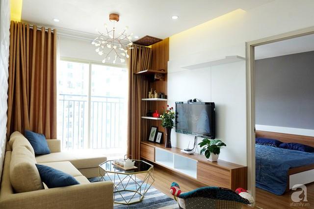 Căn hộ 78m² với 3 phòng ngủ có chi phí thi công 262 triệu đồng ở Long Biên, Hà Nội - Ảnh 1.