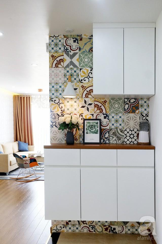 Căn hộ 78m² với 3 phòng ngủ có chi phí thi công 262 triệu đồng ở Long Biên, Hà Nội - Ảnh 2.
