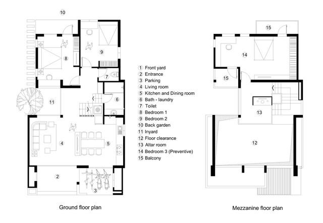 [Ảnh] Kiến trúc đẹp và sang trọng của nhà 1 tầng ở Đồng Hới - Ảnh 13.