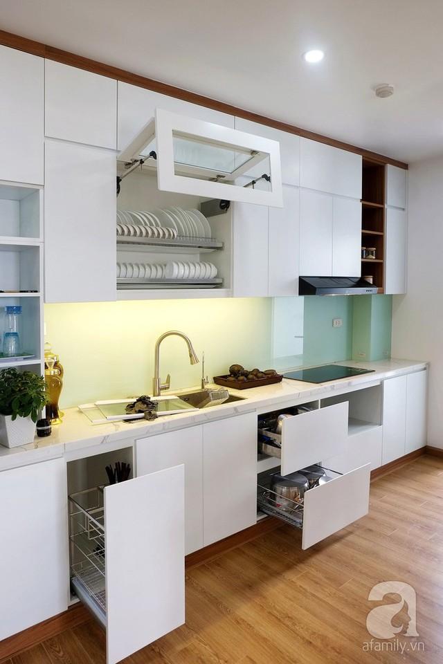 Căn hộ 78m² với 3 phòng ngủ có chi phí thi công 262 triệu đồng ở Long Biên, Hà Nội - Ảnh 15.