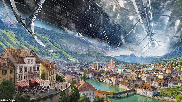 Ông chủ Amazon công bố kế hoạch bí mật xây căn cứ vũ trụ cho cả nghìn tỉ người: Tuyệt đẹp, ai cũng sẽ muốn ở - Ảnh 3.