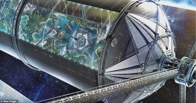 Ông chủ Amazon công bố kế hoạch bí mật xây căn cứ vũ trụ cho cả nghìn tỉ người: Tuyệt đẹp, ai cũng sẽ muốn ở - Ảnh 4.