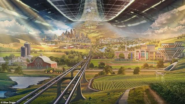 Ông chủ Amazon công bố kế hoạch bí mật xây căn cứ vũ trụ cho cả nghìn tỉ người: Tuyệt đẹp, ai cũng sẽ muốn ở - Ảnh 7.