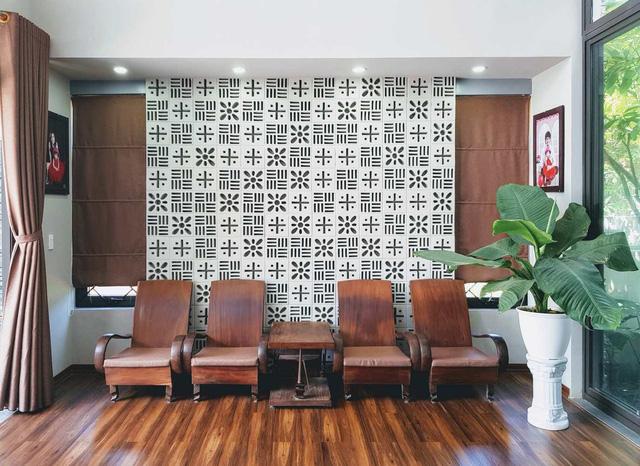 [Ảnh] Kiến trúc đẹp và sang trọng của nhà 1 tầng ở Đồng Hới - Ảnh 8.