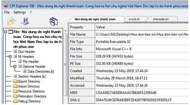 """Virus phát tán qua email """"đòi nợ"""" tấn công máy tính người dùng như thế nào? - Ảnh 4."""