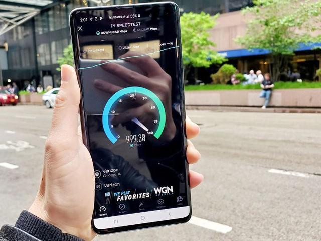 Thử nghiệm thực tế tốc độ mạng 5G tại Mỹ: Download 10 tiếng phim 4K chỉ trong 5 phút! - Ảnh 1.