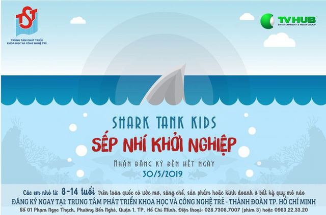 Shark Tank Việt Nam sắp có phiên bản Shark Tank Kids dành cho các trẻ em yêu thích khởi nghiệp - Ảnh 1.