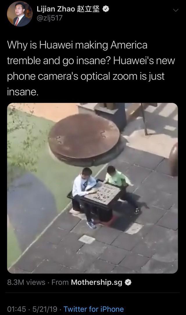 Tâng bốc Huawei và chế giễu Apple nhưng nhân vật mạnh mồm này lại vẫn dùng iPhone? - Ảnh 3.