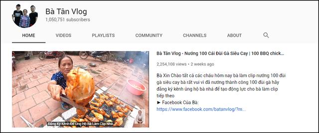 Bà Tân Vlog lọt Top 3 YouTube đua sub nhanh nhất thế giới: Tăng gần 200.000 sub/ngày, Nút Vàng về tay - Ảnh 1.