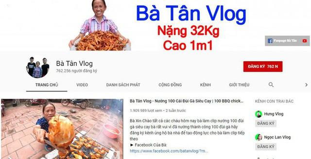 Hiện tượng mạng Bà Tân Vlog và giấc mơ của cộng đồng YouTuber Việt Nam - Ảnh 1.