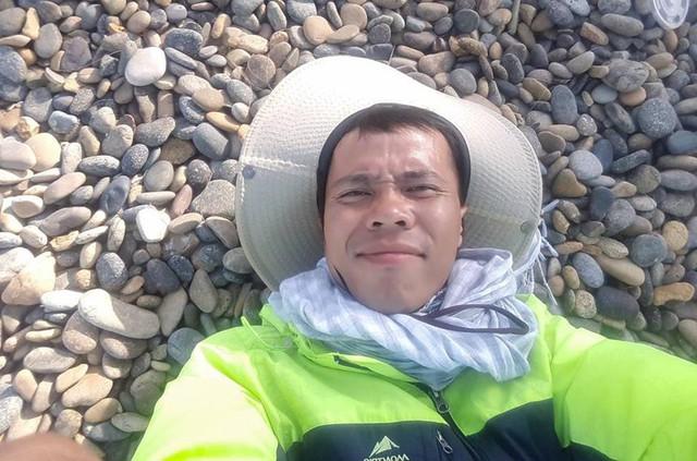 113 ngày đi bộ xuyên Việt chỉ với 100.000 đồng trong túi - Ảnh 2.