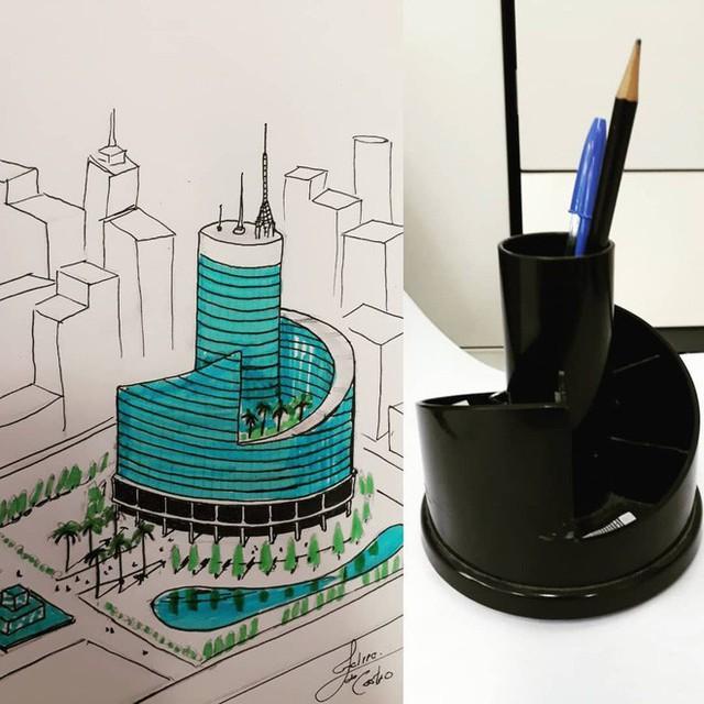 KTS biến những đồ vật quen thuộc thành công trình kiến trúc với thiết kế không tưởng - Ảnh 2.