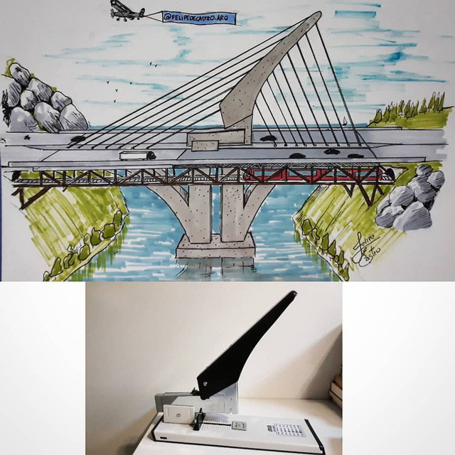 KTS biến những đồ vật quen thuộc thành công trình kiến trúc với thiết kế không tưởng - Ảnh 3.