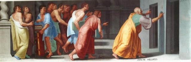 Đây là lời giải cho nghịch lý nổi tiếng của Zeno, về anh hùng Achilles chạy đua với con rùa - Ảnh 1.