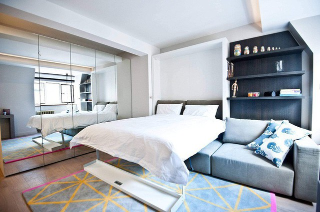 Thiết kế không gian đa chức năng thông minh cho những căn hộ chung cư có diện tích nhỏ - Ảnh 11.