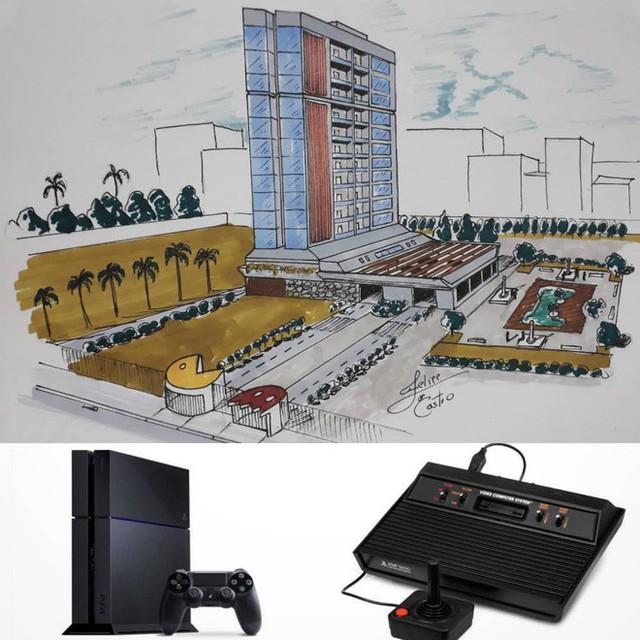 KTS biến những đồ vật quen thuộc thành công trình kiến trúc với thiết kế không tưởng - Ảnh 11.