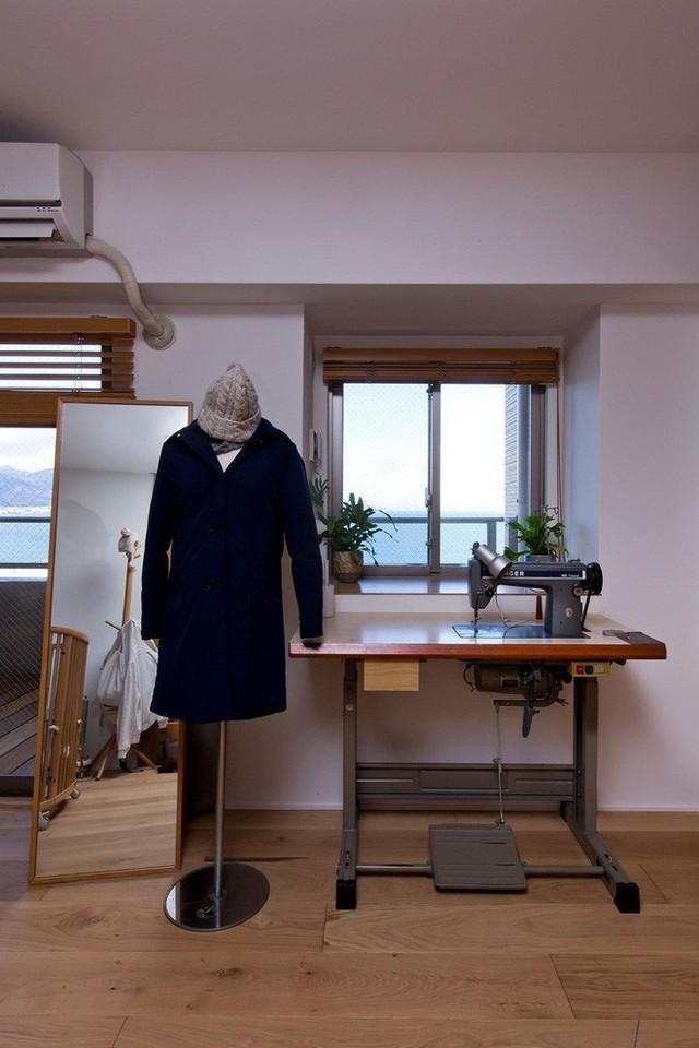Căn hộ 85m² đẹp dịu dàng và ấm áp với màu gỗ của gia đình trẻ ở Nhật Bản - Ảnh 11.