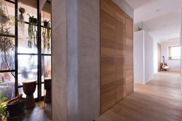Căn hộ 85m² đẹp dịu dàng và ấm áp với màu gỗ của gia đình trẻ ở Nhật Bản - Ảnh 9.