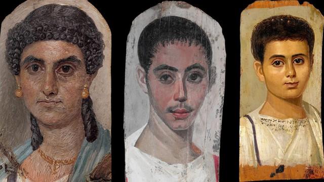 Bí ẩn những bức chân dung xác ướp Ai Cập cổ: Vẽ chính chủ và đa phần là nguyên liệu ngoại - Ảnh 1.