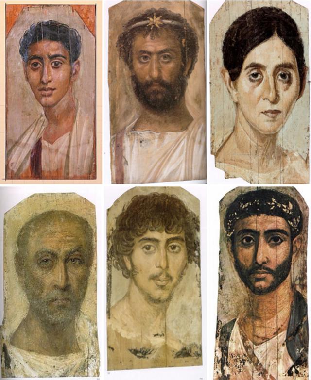 Bí ẩn những bức chân dung xác ướp Ai Cập cổ: Vẽ chính chủ và đa phần là nguyên liệu ngoại - Ảnh 7.