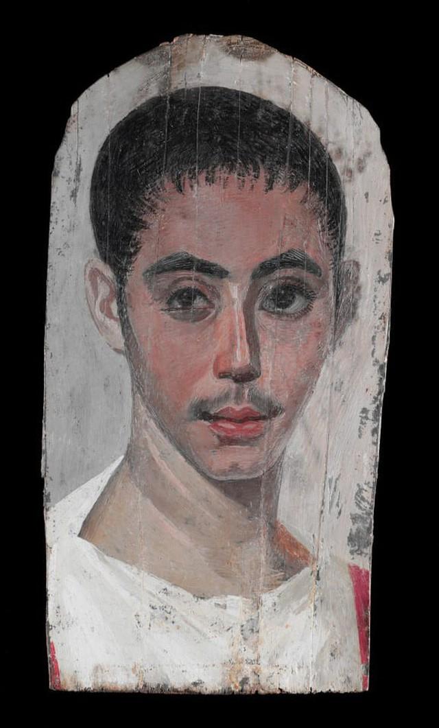 Bí ẩn những bức chân dung xác ướp Ai Cập cổ: Vẽ chính chủ và đa phần là nguyên liệu ngoại - Ảnh 8.