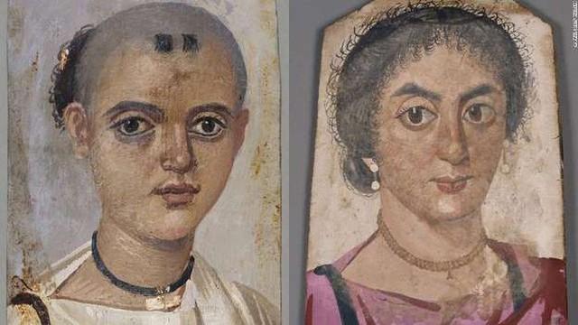 Bí ẩn những bức chân dung xác ướp Ai Cập cổ: Vẽ chính chủ và đa phần là nguyên liệu ngoại - Ảnh 9.