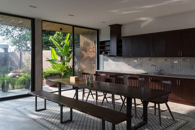 Thiết kế đơn giản nhưng ngôi nhà 1 tầng ở Hà Nội vẫn đẹp như biệt thự nghỉ dưỡng - Ảnh 3.