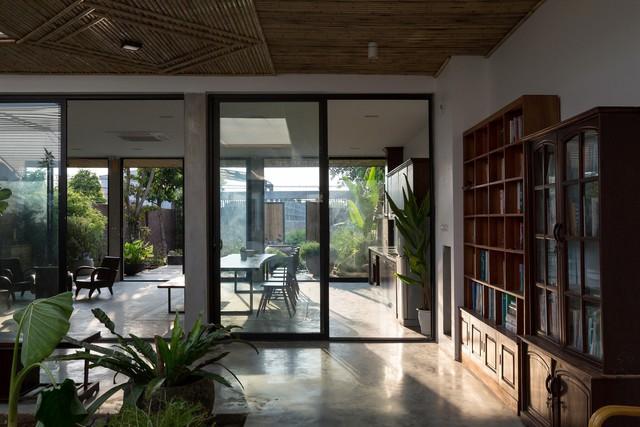Thiết kế đơn giản nhưng ngôi nhà 1 tầng ở Hà Nội vẫn đẹp như biệt thự nghỉ dưỡng - Ảnh 4.