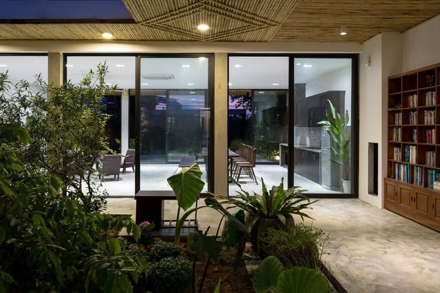 Thiết kế đơn giản nhưng ngôi nhà 1 tầng ở Hà Nội vẫn đẹp như biệt thự nghỉ dưỡng - Ảnh 5.