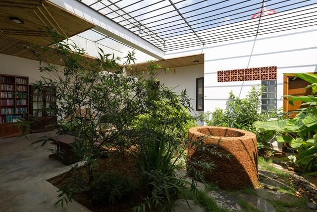 Thiết kế đơn giản nhưng ngôi nhà 1 tầng ở Hà Nội vẫn đẹp như biệt thự nghỉ dưỡng - Ảnh 6.