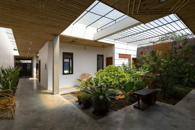 Thiết kế đơn giản nhưng ngôi nhà 1 tầng ở Hà Nội vẫn đẹp như biệt thự nghỉ dưỡng - Ảnh 7.