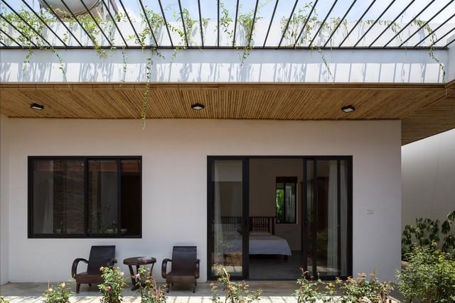 Thiết kế đơn giản nhưng ngôi nhà 1 tầng ở Hà Nội vẫn đẹp như biệt thự nghỉ dưỡng - Ảnh 8.