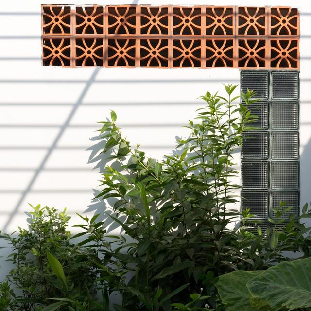 Thiết kế đơn giản nhưng ngôi nhà 1 tầng ở Hà Nội vẫn đẹp như biệt thự nghỉ dưỡng - Ảnh 9.