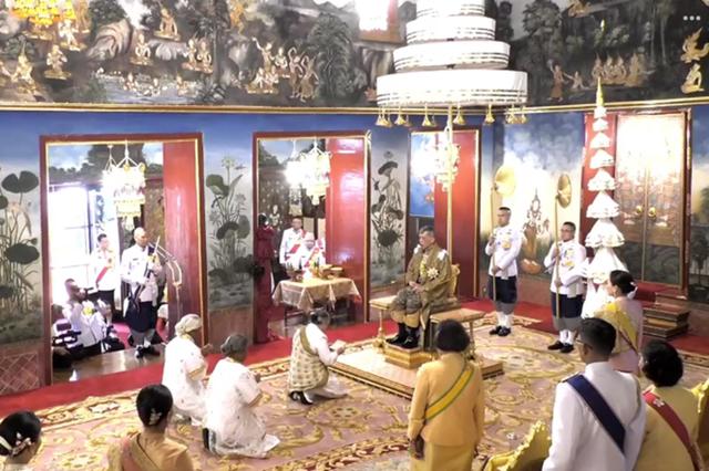 Toàn cảnh lễ đăng quang của Nhà vua Thái Lan Rama X - Ảnh 10.