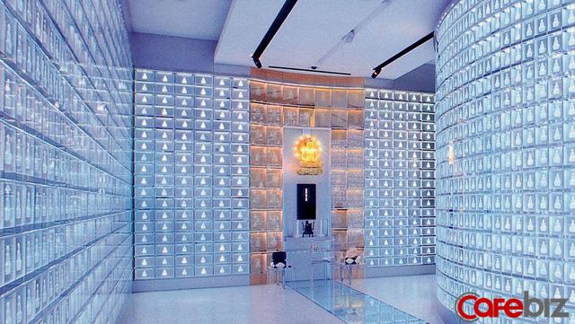 Nghĩa trang thời công nghệ 4.0 tại Nhật: Xây tháp cao ngay tại Tokyo, người thân có thể thăm viếng, đọc kinh niệm Phật bằng smartphone - Ảnh 2.