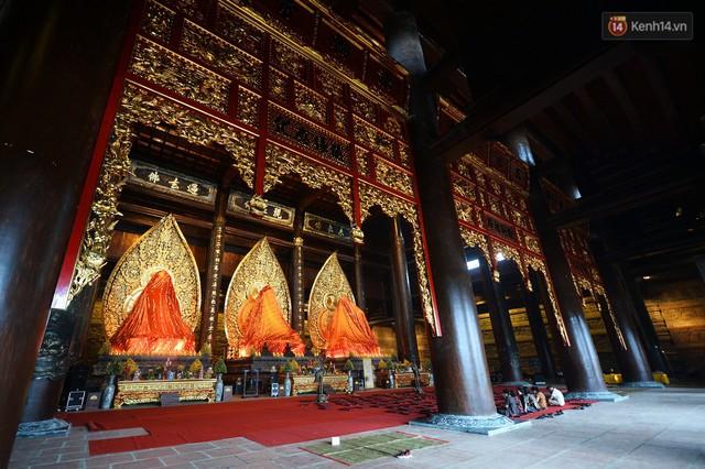 Cảnh hoành tráng của khu trung tâm hội nghị quốc tế tại chùa Tam Chúc - nơi diễn ra đại lễ Vesak Liên Hợp Quốc 2019 - Ảnh 4.