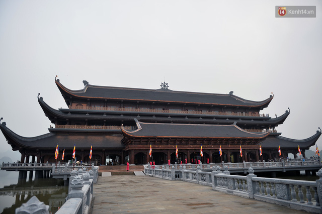 Cảnh hoành tráng của khu trung tâm hội nghị quốc tế tại chùa Tam Chúc - nơi diễn ra đại lễ Vesak Liên Hợp Quốc 2019 - Ảnh 10.