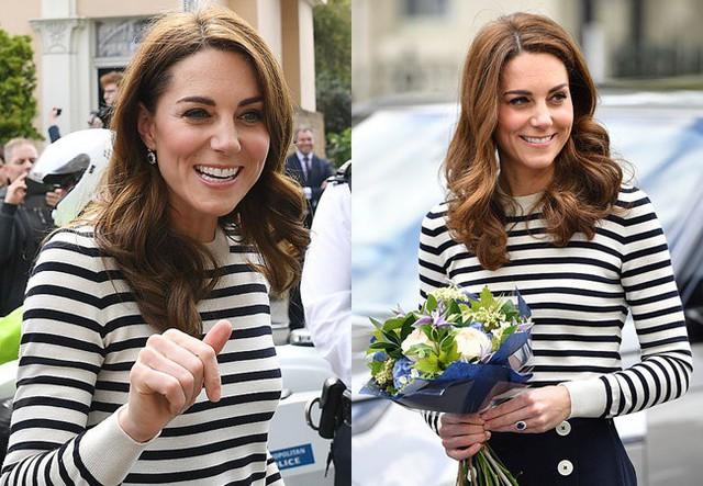 Phản ứng đầy bất ngờ của vợ chồng Công nương Kate khi được hỏi về em bé Sussex, sau một loạt nghi vấn mâu thuẫn, xích mích với em dâu Meghan - Ảnh 2.