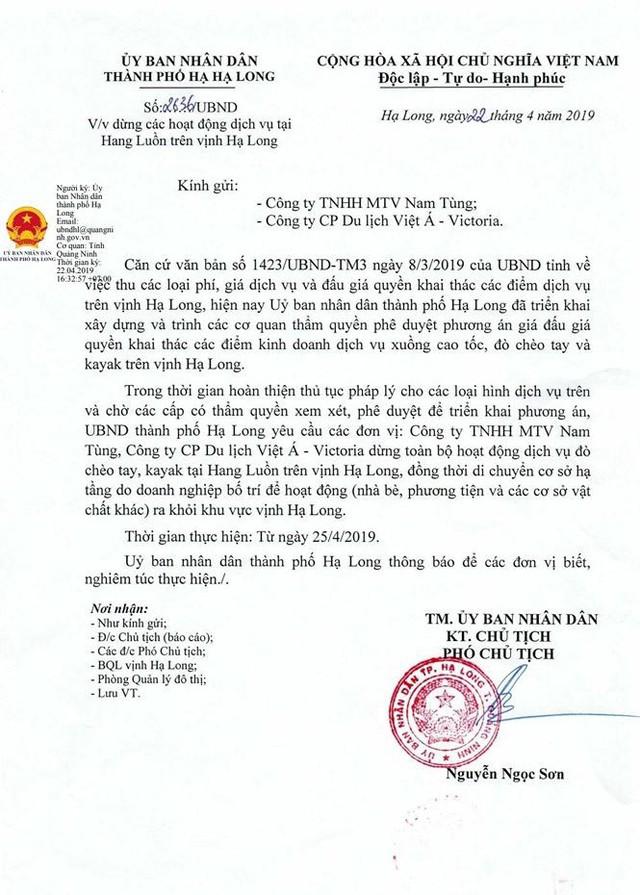 Chèo đò thu tiền tỷ trên vịnh Hạ Long: Chính quyền nói gì? - Ảnh 3.