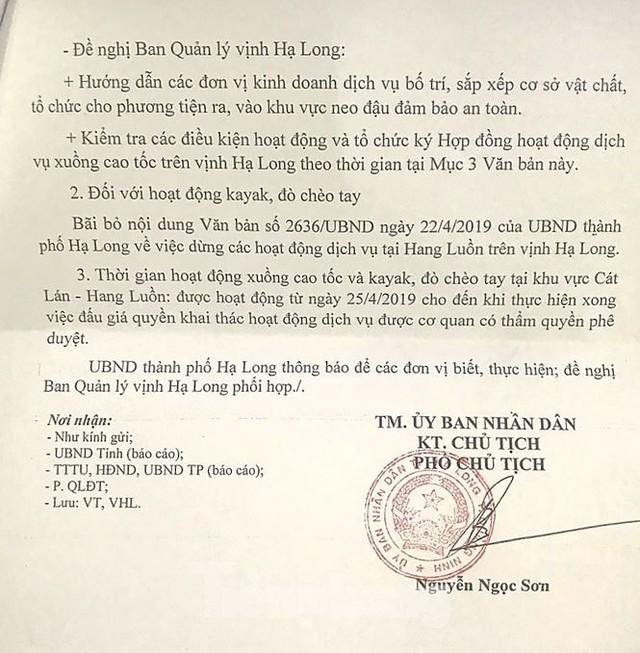 Chèo đò thu tiền tỷ trên vịnh Hạ Long: Chính quyền nói gì? - Ảnh 5.
