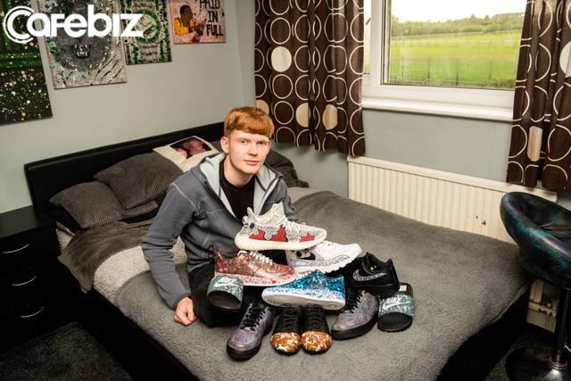 Bỏ học, chàng trai 17 tuổi kiếm £20,000 từ công việc bị mọi người coi là ngớ ngẩn - Ảnh 1.