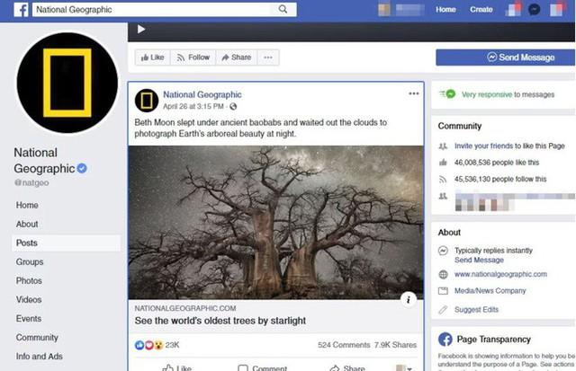 Bức ảnh Dải ngân hà được đăng bởi trang báo nổi tiếng National Geographic bị dân mạng tố là ảnh fake - Ảnh 1.