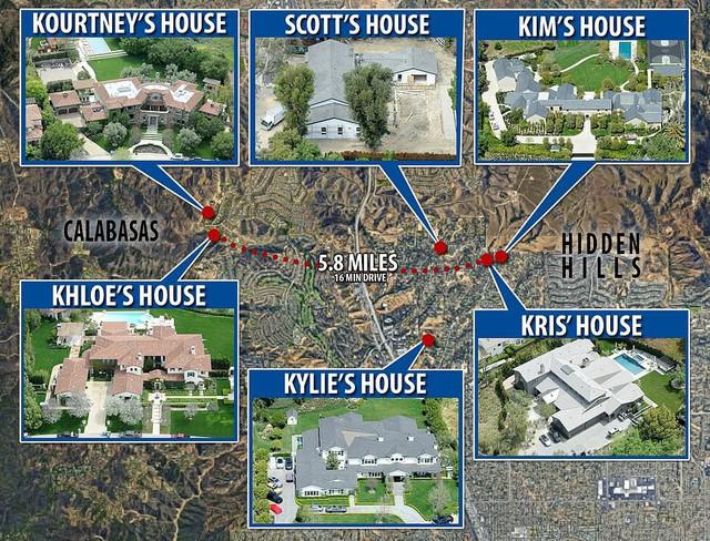 Biết nhà Kardashian giàu nhưng ai ngờ giàu đến độ này: Thầu hẳn khu đất khổng lồ xây 6 biệt thự trăm tỉ chỉ vì 1 lý do đơn giản - Ảnh 1.
