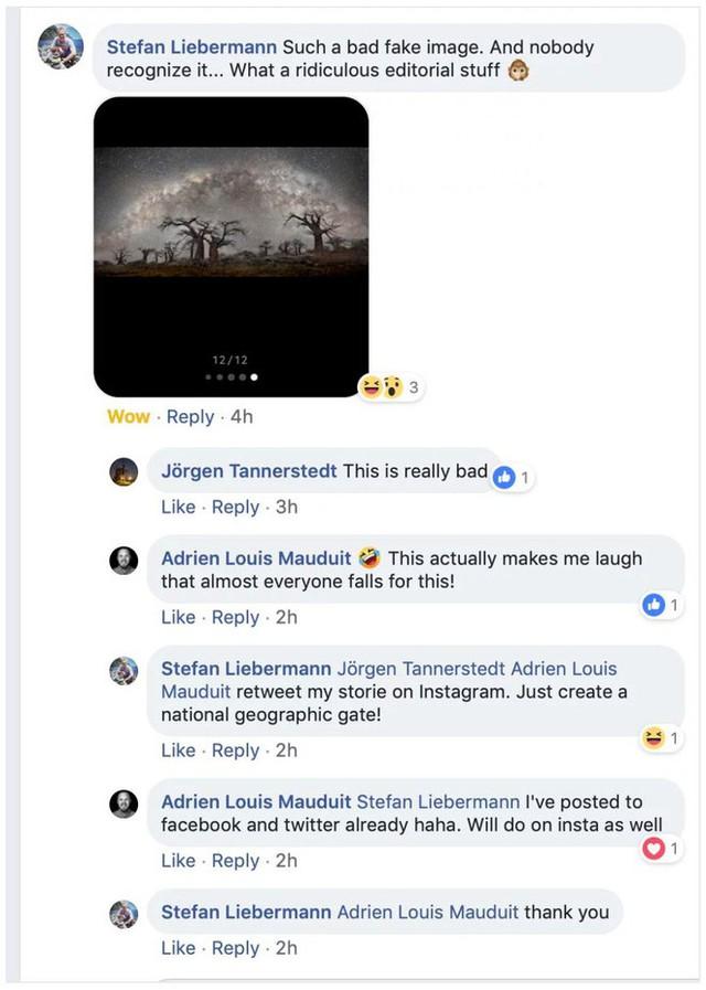 Bức ảnh Dải ngân hà được đăng bởi trang báo nổi tiếng National Geographic bị dân mạng tố là ảnh fake - Ảnh 3.