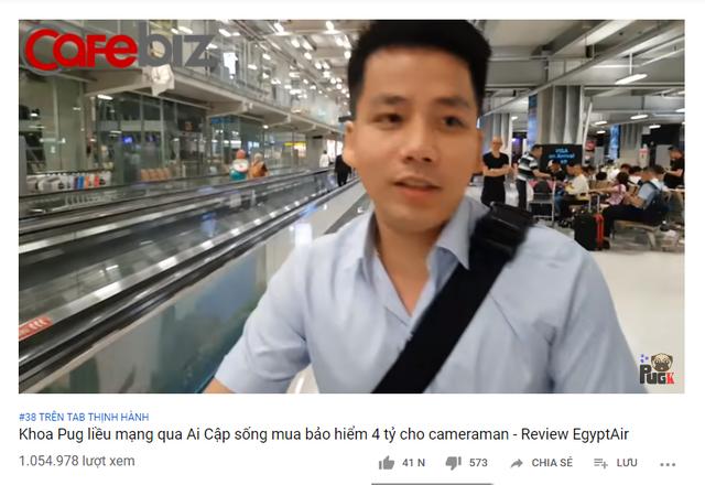 Khoa Pug chơi lớn: Youtuber chịu chi nhất Việt Nam mua bảo hiểm 4 tỷ đi Ai Cập, sử dụng toàn dịch vụ 5 sao ở nước ngoài - Ảnh 1.
