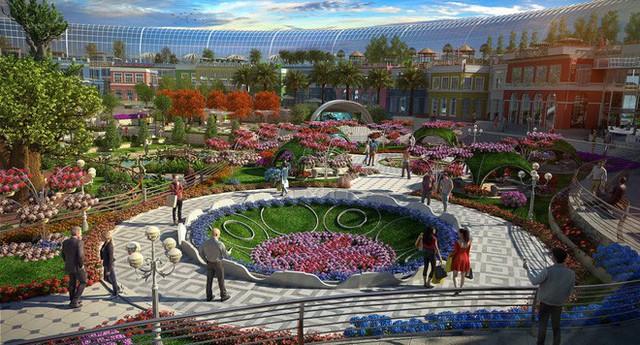 Trung tâm thương mại biết sống và thở lớn nhất thế giới tại Dubai - Ảnh 1.